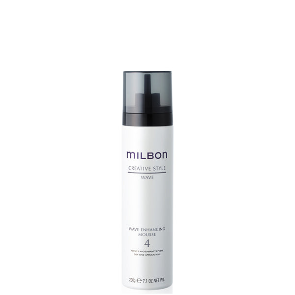 Global Milbon Wave Enhancing Mousse 4