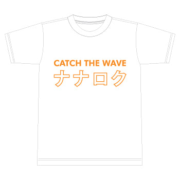 Number76 Original NANAROKU Tee - White/Orange