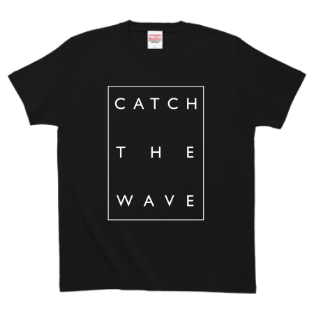 "Number76 Original T-shirt ""Catch The Wave"""