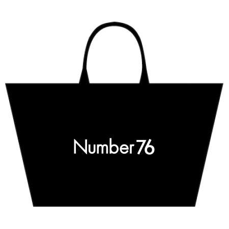 Number76 Original Zipper Bag