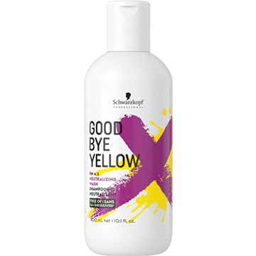 Schwarzkopf Goodbye Yellow Color Shampoo
