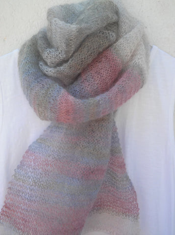 GIVEAWAY Silver Strand Scarf/Shawl...the Inspiration behind my Free Knitting Pattern