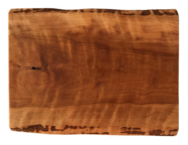 Live Edge Cherry Serving Board