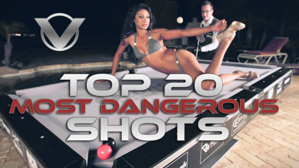 Click to Watch the 20 Most Dangerous Billiard Shots by Venom Trickshots