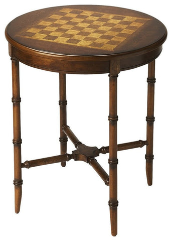Sage Arcade Butler Furniture Somerset Olive Ash Burl Plantation Cherry Game Table 1138101 Game Table Butler Furniture