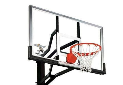 Sage Arcade Silverback SB54 In-Ground Outdoor Basketball Hoop Basketball Silverback