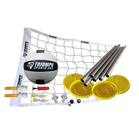 Sage Arcade Triumph Beach Volleyball Set Full Kit Outdoor Games Triumph