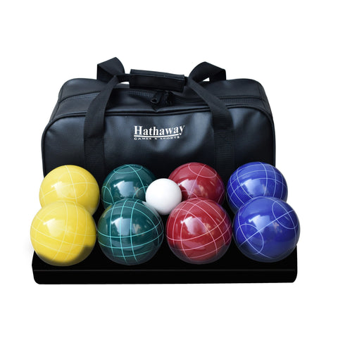 Sage Arcade Hathaway Sports Deluxe Bocce Ball Set Outdoor Games The Hathaway Sports