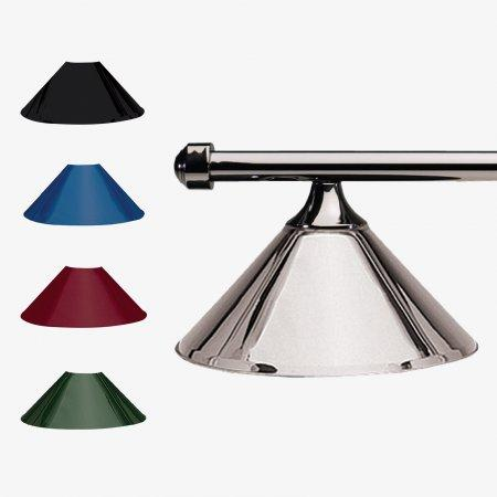 Sage Arcade HJ Scott Gunmetal Bar 3-Shade Metal Light Lighiting Standard Lighting