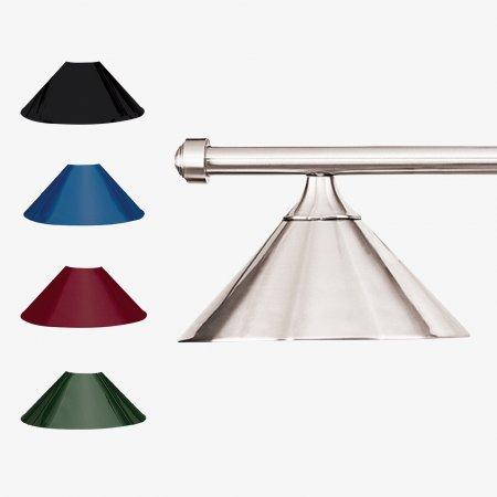 Sage Arcade HJ Scott Brushed Chrome Bar 3-Shade Metal Light Lighiting Standard Lighting