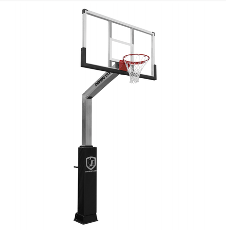 Sage Arcade Doman Sports Weatherproof Dominator 60/72 XL In-Ground Basketball Hoop Basketball Doman Sports