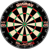 Sage Arcade Winmau Blade 5 Dual Core® Tournament Regulation Size Bristle Dartboard Darts Winmau