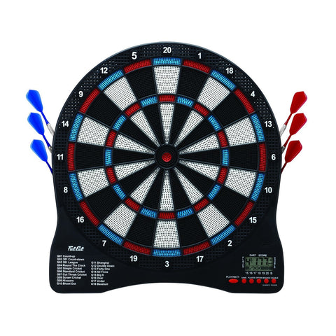 "Sage Arcade Fat Cat Sirius 13.5"" Electronic Dartboard LED Scoreboard Darts FAT CAT"