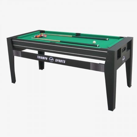 "Sage Arcade 45-6065 Triumph 72"" 4-in-1 Rotating Table Game Table Triumph"