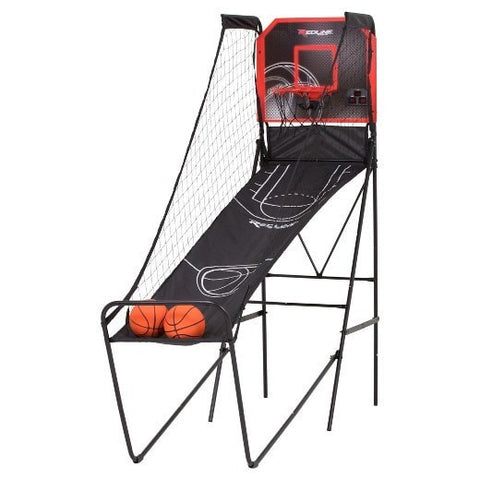 Sage Arcade Redline Alley-Oop Single Shootout Indoor Arcade Basketball Hoop Basketball Redline