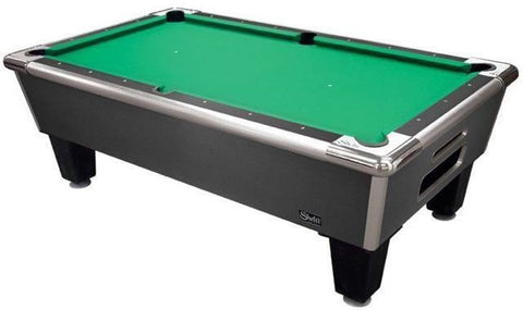 Sage Arcade Shelti Bayside Home-Package Charcoal Billiards Table Pool Shelti