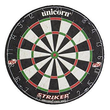 Sage Arcade Unicorn Striker Official Tournament Super Slim Bristle Dart Board Darts Unicorn