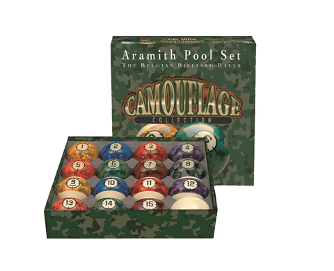 Sage Arcade Aramith Camouflage Billiards Ball Set Billiard Balls Aramith