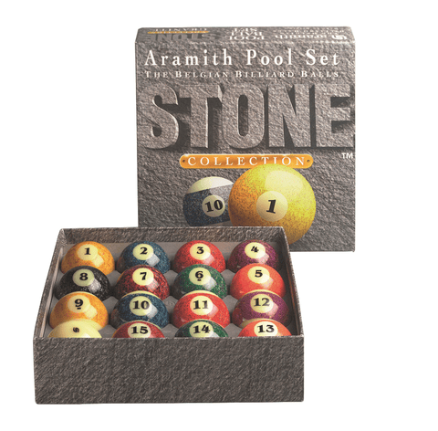 Sage Arcade Aramith Stone Billiards Ball Set Billiard Balls Aramith