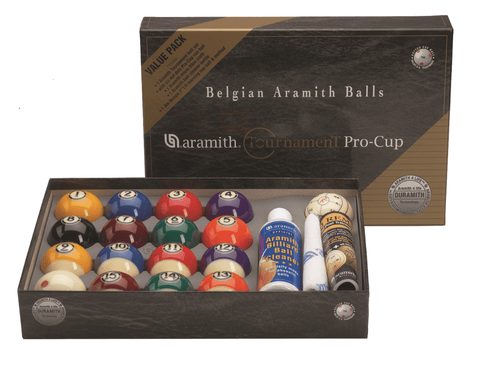 Sage Arcade Aramith Tournament Pro Cup Billiard Ball Value Pack Billiard Balls Aramith