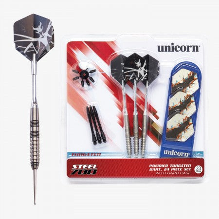Sage Arcade D71836 Unicorn® Steel Tipped 700 Dart Set Darting Unicorn