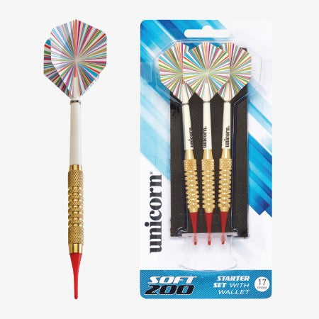 Sage Arcade D71910 Unicorn® Soft Tipped 200 Dart Set Darting Unicorn