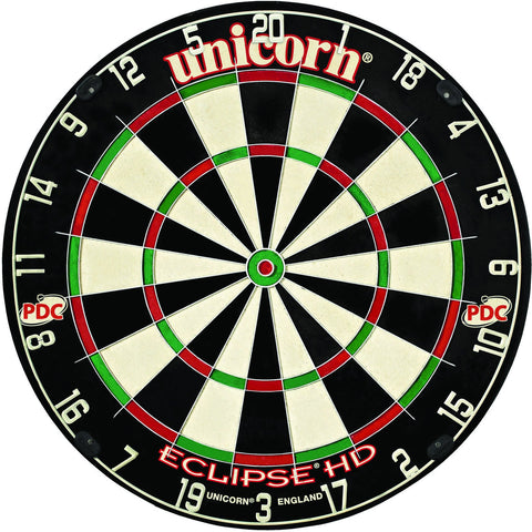 Sage Arcade Unicorn Eclipse Professional HD Bristle Dartboard Darts Unicorn