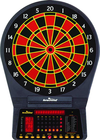 Sage Arcade Arachnid Cricket Pro 750 Tournament Regulation Electronic Dartboard Darts Arachnid