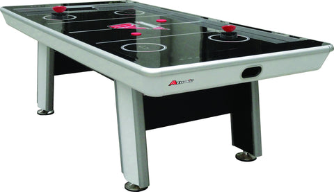 Sage Arcade Atomic Avenger 8' Acrylic Surface 120V Blower Air Hockey Table Air Hockey Atomic