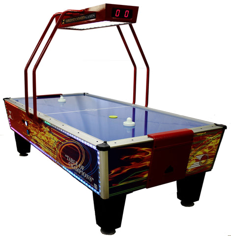Sage Arcade Gold Standard Games Gold Flare Home Elite Air Hockey Table Air Hockey Gold Standard Game