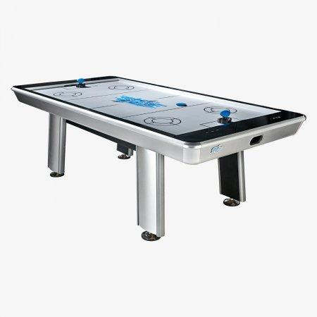 Sage Arcade HJAR8 HJ Scott® 8' Raptor Air Hockey Table Game Table Cueandcase