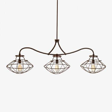 Sage Arcade LP-585 HJ Scott Industrial Style Wire Framed Light Lighiting Designer Lighting
