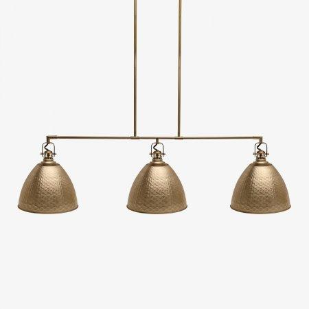 Sage Arcade LP-586 HJ Scott Industrial Hammered Metal Light Lighiting Designer Lighting