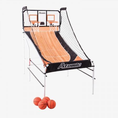 Sage Arcade M01483W Atomic™ Slam Dunk Shootout Game Table Cueandcase