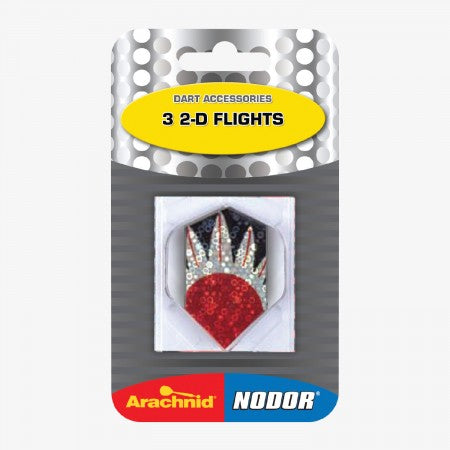 Sage Arcade ND2DSLIM Nodor® Three 2-D Flights Darting Accessories Cueandcase