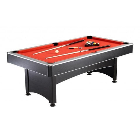 Sage Arcade Maverick 2-in-1 Billiards Pool Table with a Table Tennis Conversion Top Multi-Game Tables Carmelli