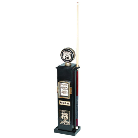 Sage Arcade RAM Game Room Gas Pump Billiards Cue & CD Holder – Route 66 R240 Billiard Cue RAM