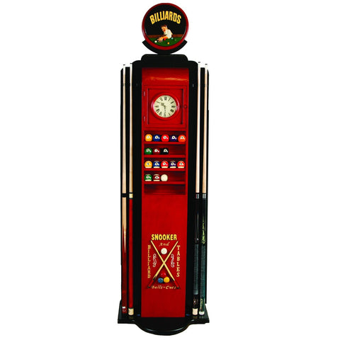 Sage Arcade RAM Game Room Gas Pump Billiards Ball & Pool Cue Holder R934 Billiard Cue RAM