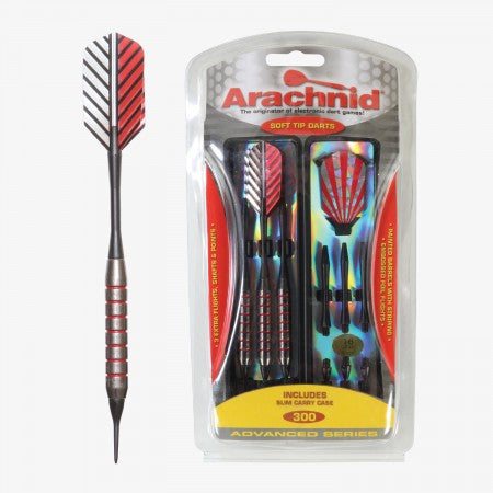 Sage Arcade SFA300 Arachnid® Soft Tipped Dart Set Darting Cueandcase