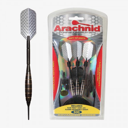 Sage Arcade SFA500 Arachnid® Soft Tipped Dart Set Darting Cueandcase