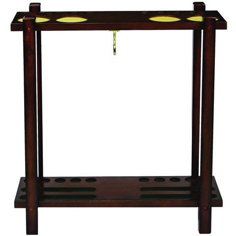 Sage Arcade Wood  Straight Floor Cue Rack SFCR CN Billiard Cue RAM