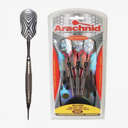 Sage Arcade SFP600 Arachnid® Soft Tipped Dart Set Darting Cueandcase