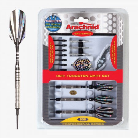 Sage Arcade SFP900 Arachnid® Soft Tipped Dart Set Darting Cueandcase