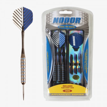 Sage Arcade STA300 Nodor® Steel Tipped Dart Set Darting Cueandcase