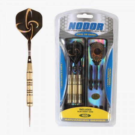Sage Arcade STA400 Nodor® Steel Tipped Dart Set Darting Cueandcase