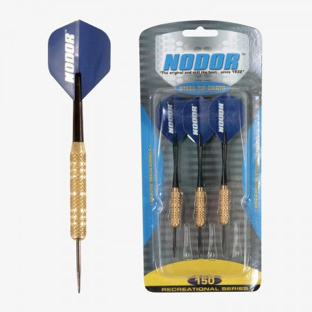 Sage Arcade STR150 Nodor® Steel Tipped Dart Set Darting Cueandcase
