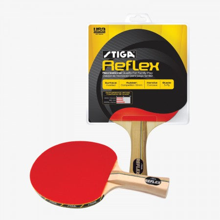Sage Arcade T1230 Stiga® Reflex Table Tennis Racket Table Tennis Cueandcase