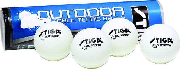 Sage Arcade STIGA Outdoor Table Tennis Ping Pong Balls 4-Pack Ping Pong STIGA
