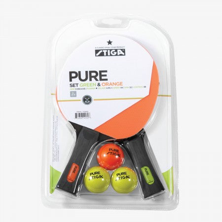 Sage Arcade T159401 Stiga Pure Players Set Table Tennis Cueandcase