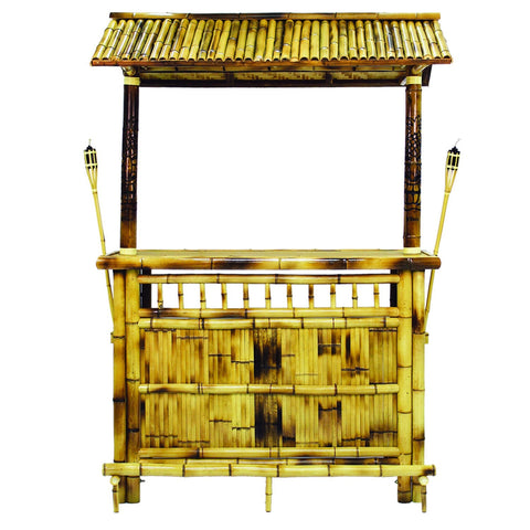 Sage Arcade RAM Game Room Bamboo Furniture 60″ Bamboo Tiki Bar TBAR60 furniture RAM